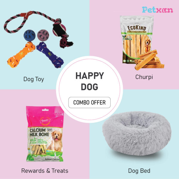 Happy dog combo package at petxan nepal